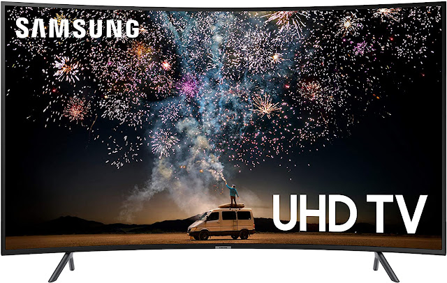 "65"" Class RU7300 Curved Smart 4K UHD TV (2019) - Samsung"
