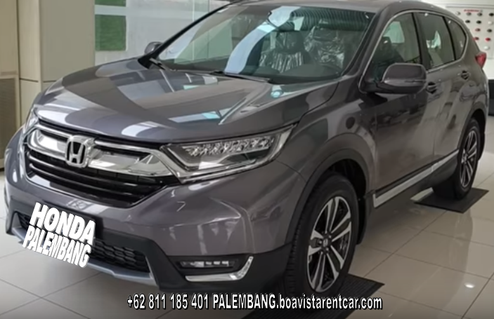 photo honda crv rental mobil palembang