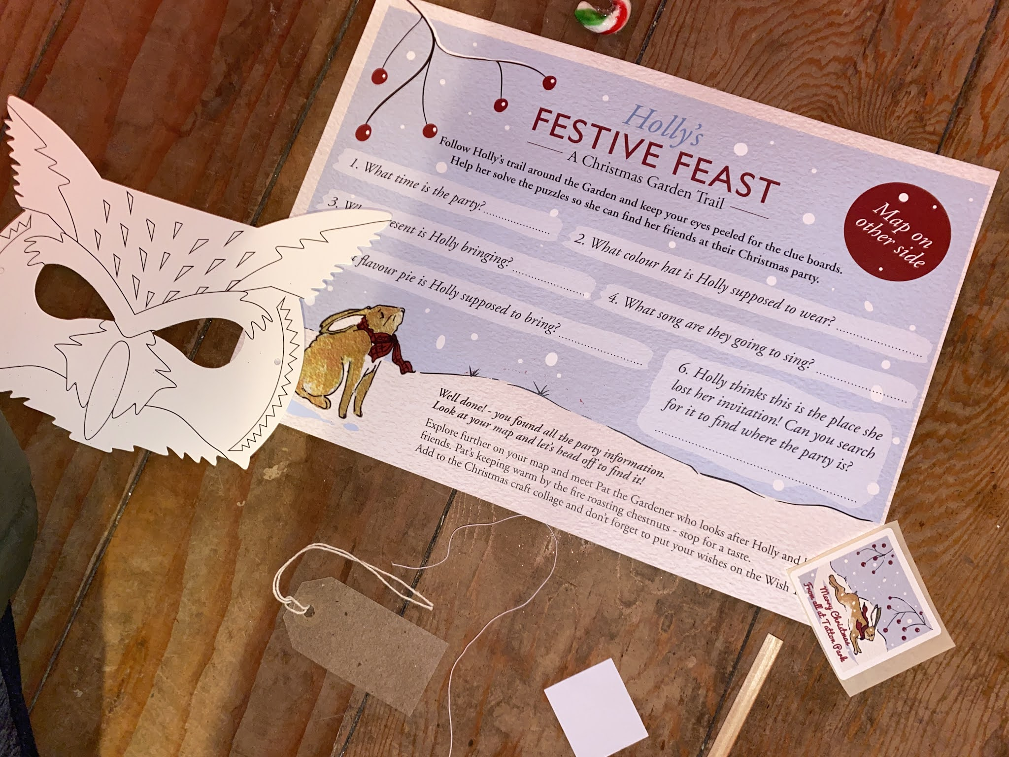 Holly Festive Feast party pack