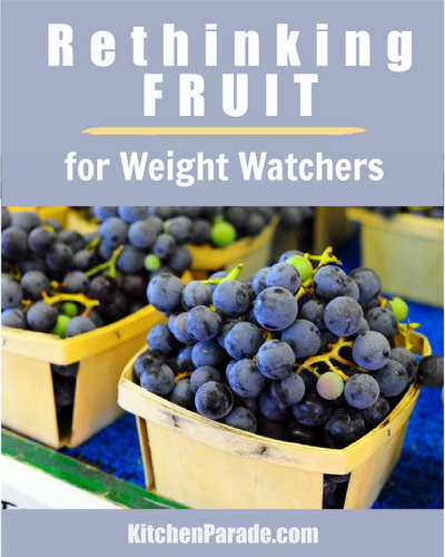 Rethinking Fruit for Weight Watchers, how and why to count points ♥ KitchenParade.com. WW works but free fruit doesn't work for everyone. If your weight loss journey is stalled, fruit might be the culprit.