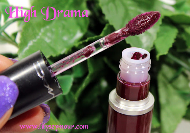 Mac High Drama Liquid Lip Color