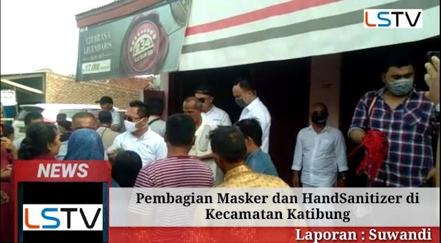 Upaya Pencegahan Covid-19, Pandu Kusuma Dewangsa Bagikan Masker dan HandSanitizer