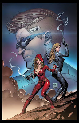 Cover of Red Agent #2, courtesy of Zenescope Entertainment