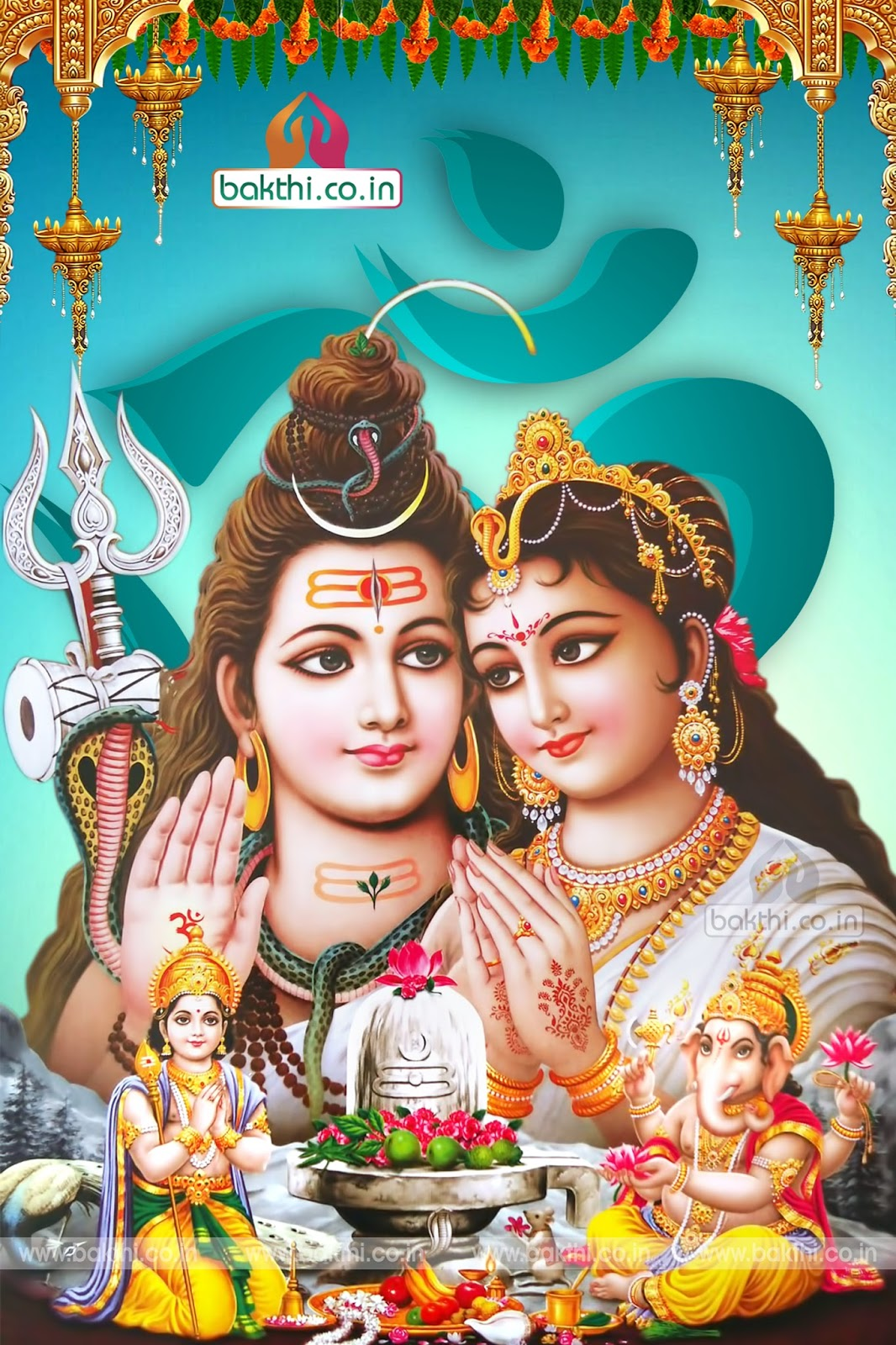 Vinayaka Chavithi Hd Wallpapers Hindu Gods Lord Shiva Parvathi And Ganesh Hd Wallpapers