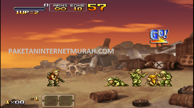 game ppsspp metal slug