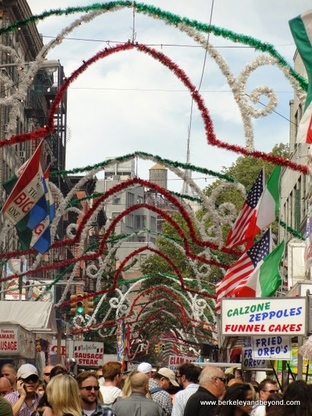 Feast of San Gennaro in Little Italy, NYC