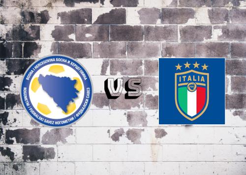 Bosnia-Herzegovina vs Italia  Resumen y Partido Completo