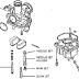 komponen karburator motor dan funsinya