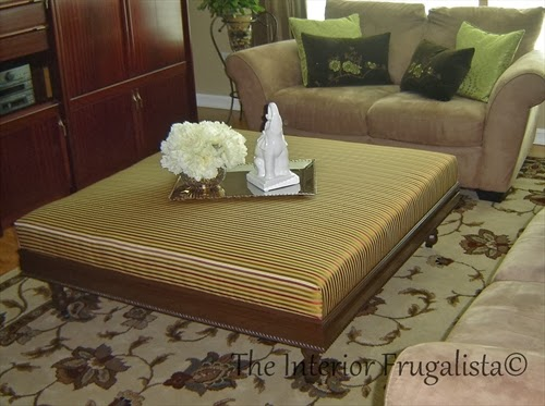 How to build an upholstered ottoman