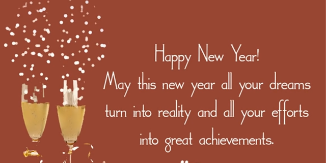 Resolutions for Happy New Year