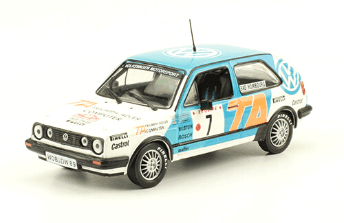collezione rally monte carlo Volkswagen Golf II Gti 16v 1987 K. Eriksson - P. Diekmann