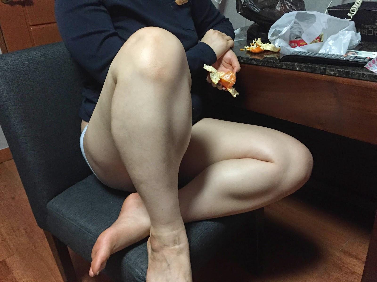 Asian Women Calves 6