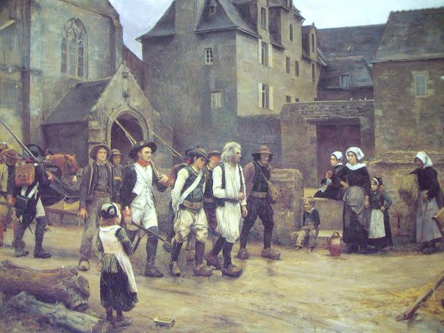 Jules Girardet - Revolucionarios de Fouesnant - c. 1886