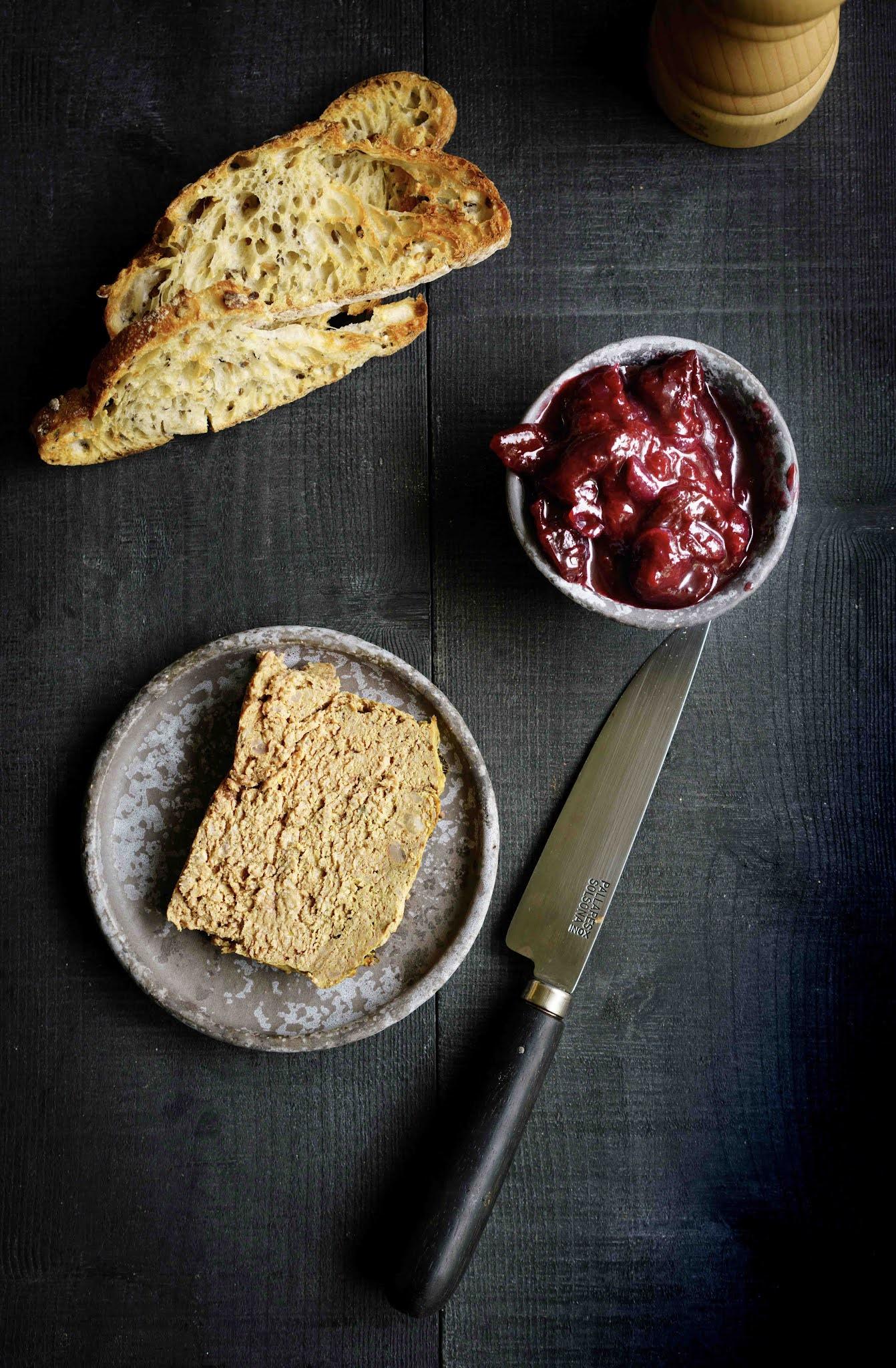 chutney de questches pour foie gras