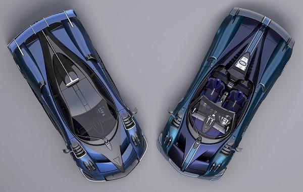 Pagani Huayra Imola y Pagani Huayra BC Roadster