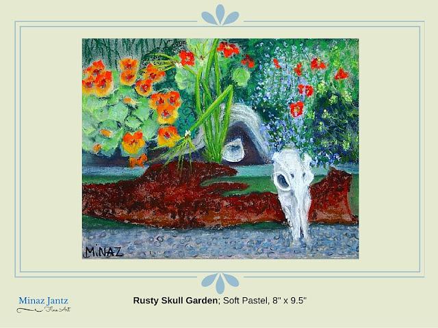 Rusty Skull Garden by Minaz Jantz