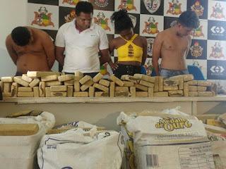 Polícia apreende meia tonelada de maconha em São Luís