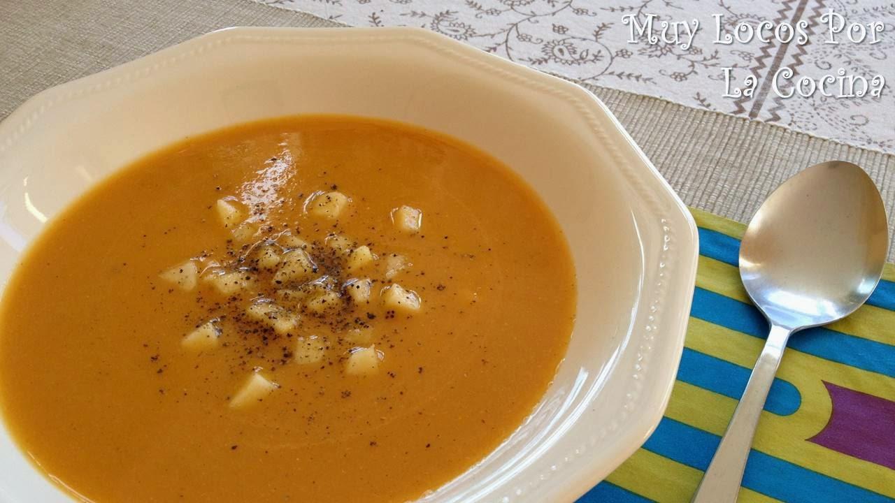 TSopa de Calabaza, Manzana, Canela y Yogur