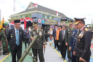 Pameran Alutsista Memeriahkan HUT ke-74 TNI