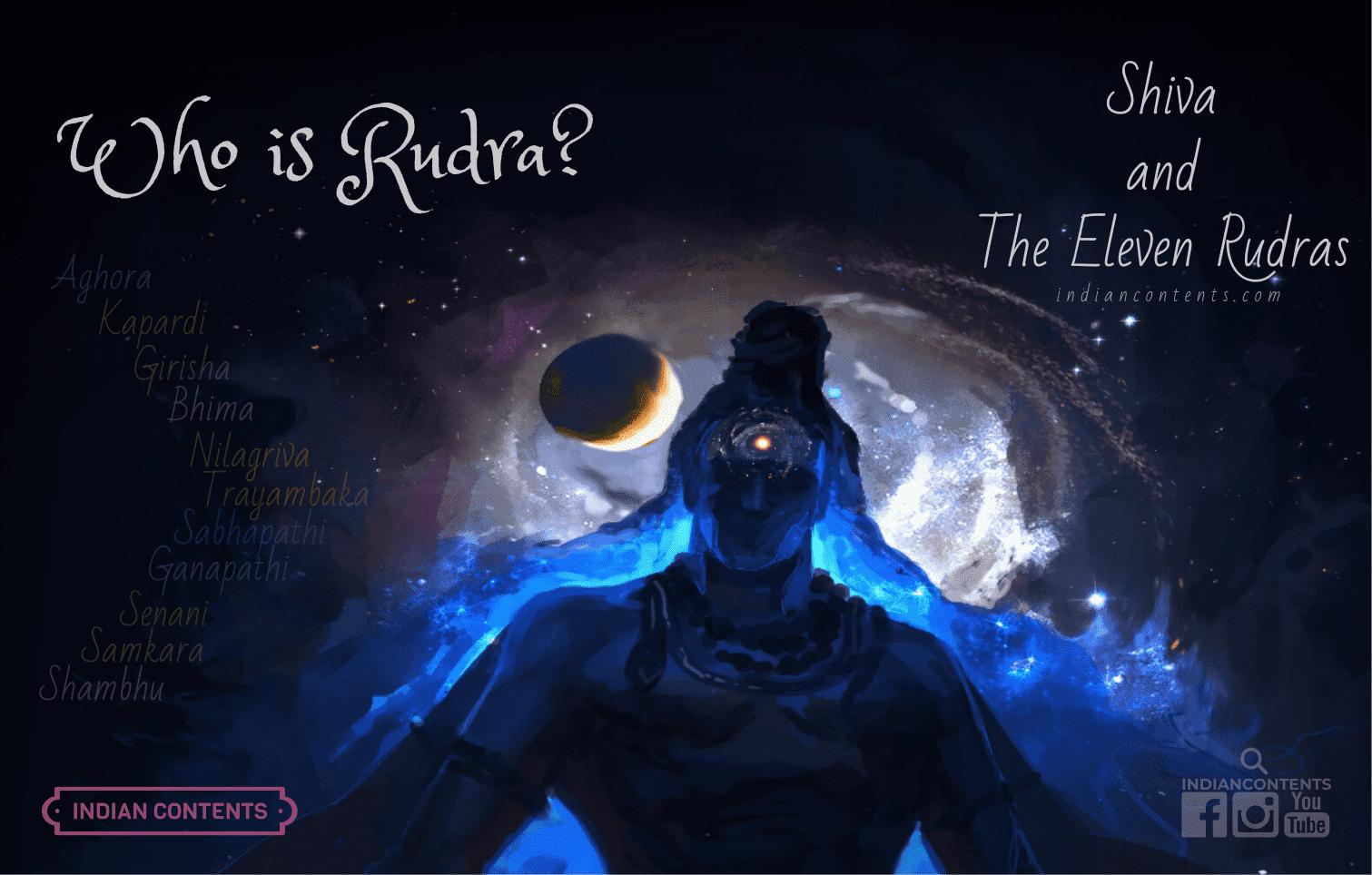 who is Rudra, Shiva