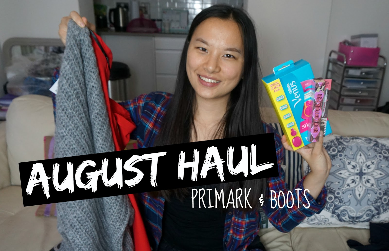 Video | August Haul (Primark & Boots)