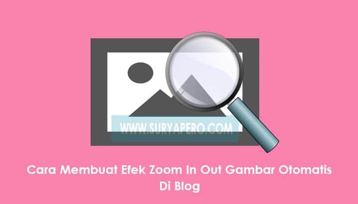 zoom in out gambar di postingan blog
