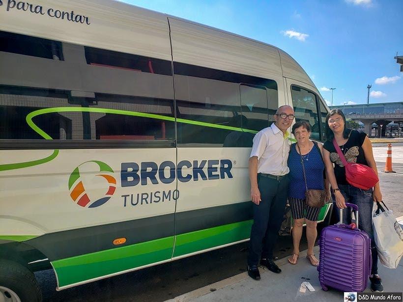 Transfer da Brocker Turismo em 2019