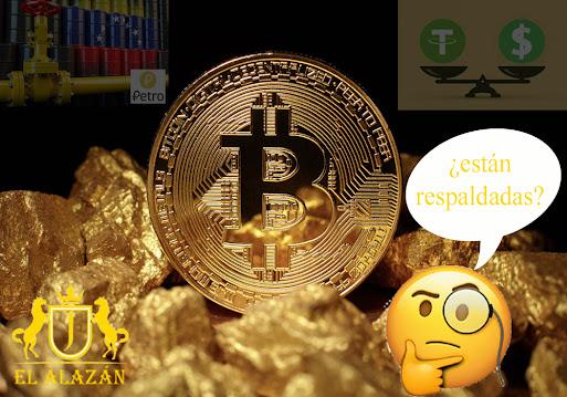 Respaldo Criptomonedas EL ALAZAN TS