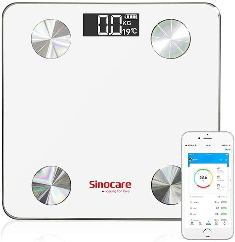 50% off Digital Scale, sinocare Bluetooth Body Fat Scale