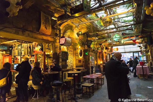 Szimpla Ruin Bar Passageway Budapest Hungary