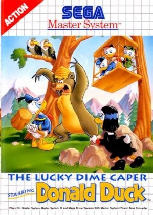 The Lucky Dime Caper: Starring Donald Duck
