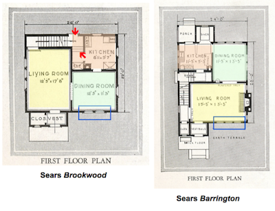 brookwood floorplan vs barrington floor plan