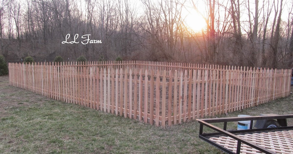 Ll Farm The Garden Fence Diy