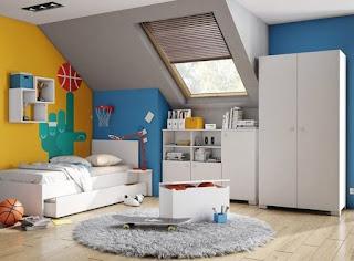 habitación moderna para niño
