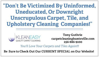 Kleaneasy carpet cleaning huntsville al