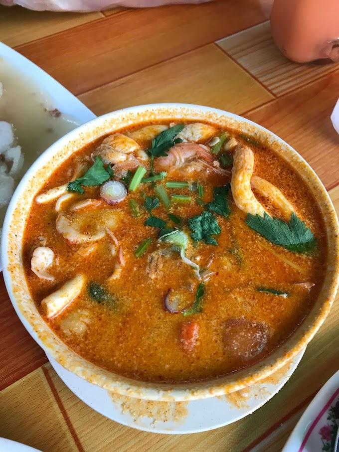 Tomyam Kaw di Restoran HM Oren Tomyam