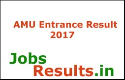 AMU Entrance Result 2017