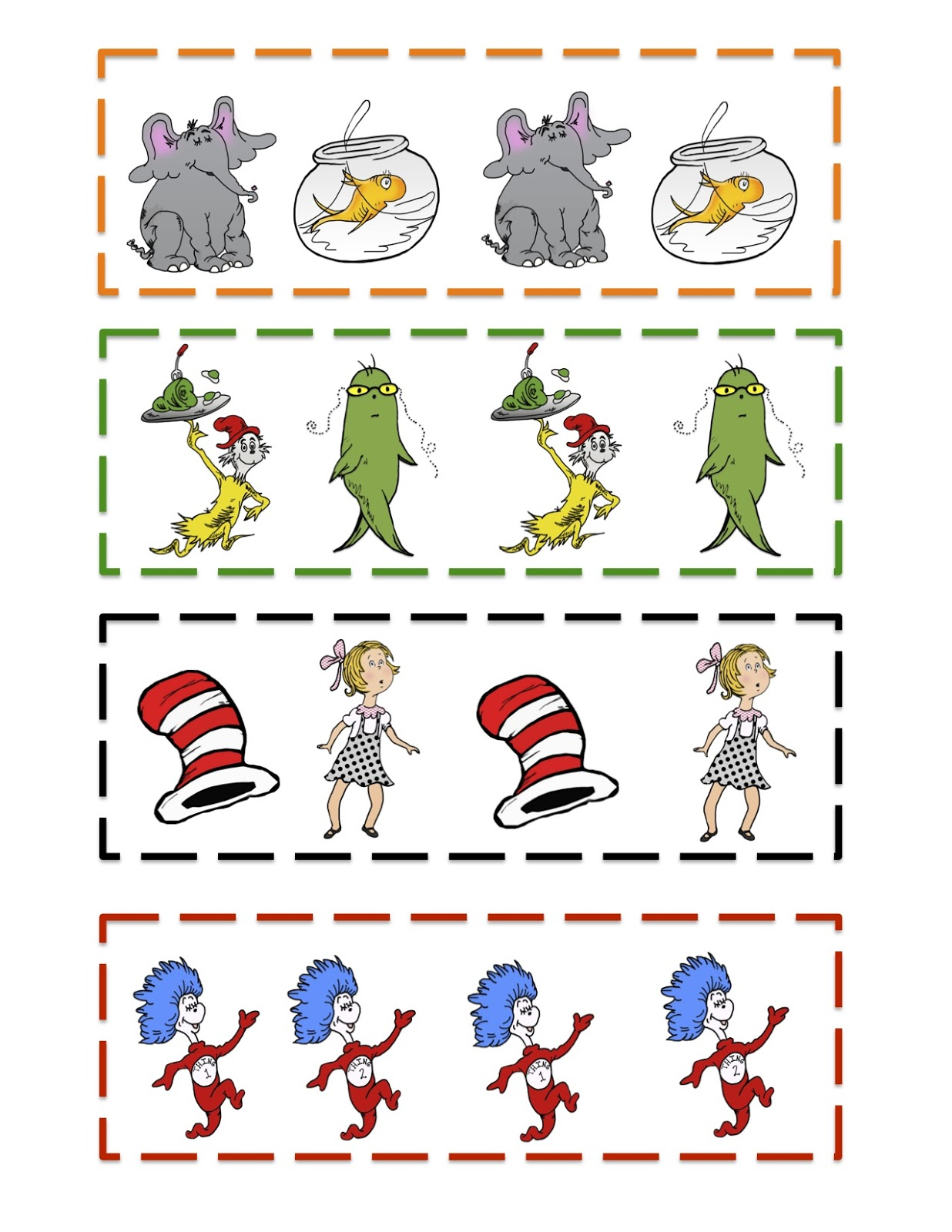 Printable Dr Seuss Quotes Templates Quotesgram