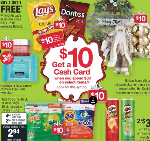 Must Do CVS Cash Card Deal 11/17-11/23