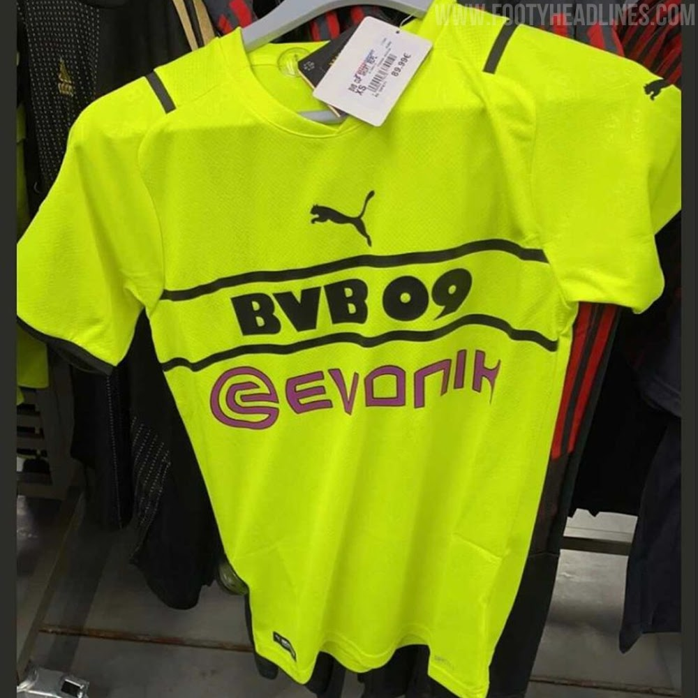 Dortmund To Get All-New 21-22 Cup Kit From Puma - Footy Headlines