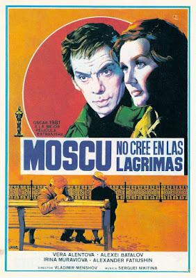Póster película Moscú no cree en las lágrimas