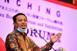 Andi Sudirman Sulaiman Launching Indonesia Jepang Bussines Forum and Exhibition di Makassar