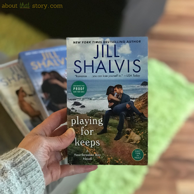 Book Review: Playing for Keeps by Jill Shalvis | About That Story