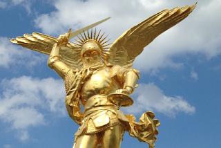 Priez Saint Michel :  Il est d'une protection capitale  Archange-mt-st-michel-c-Europe1