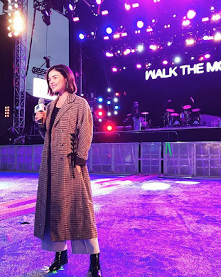 Lucy Hale hosts Dick Clark's New Year's Rockin' Eve live Central Time countdown in New Orleans