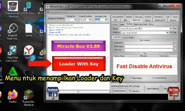 Download Dan Cara Install Miracle Box Crack Terbaru Full Version V2.89 Gratis No Password Tested!