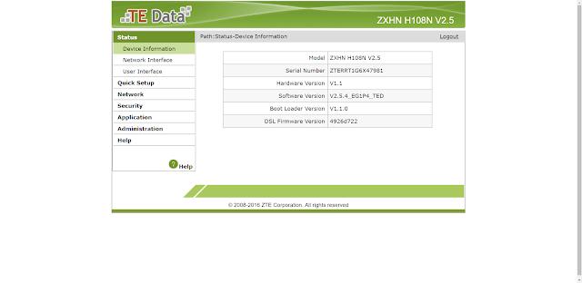 zxhn h108n v2.5