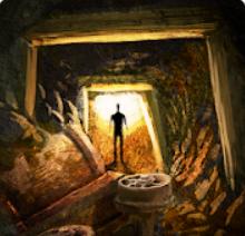 прохождение 4 уровень Рудоскоп в игре Выход из заброшенной шахты