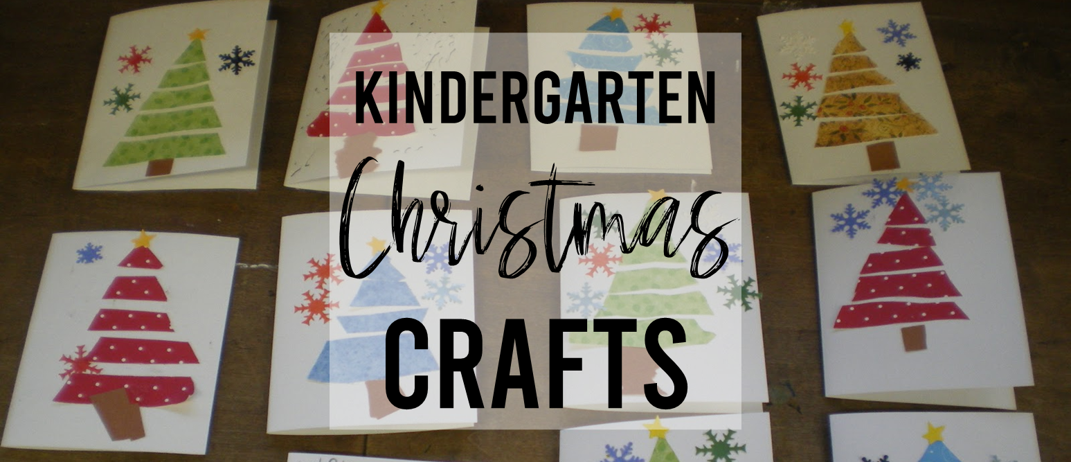 Kindergarten Christmas Crafts and Art Activities