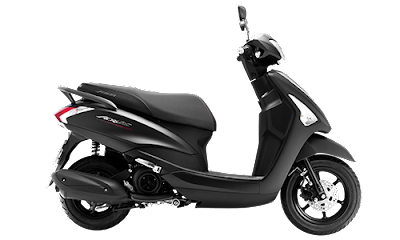 2016 Yamaha Acruzo 125cc Scooter side look